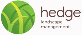 hedge landscape management logo