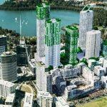 Development in Rhodes, NSW