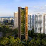 EDEN skyscaper in singapore