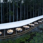 Garden Hotspot curved restaurant