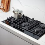 Belling BDC905LBK 90cm Black Gas-thru-Glass Cooktop