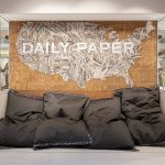 Daily Paper feature wall
