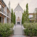 monastery into office spaces