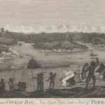 Aboriginal camp at Cockle Bay c 1812
