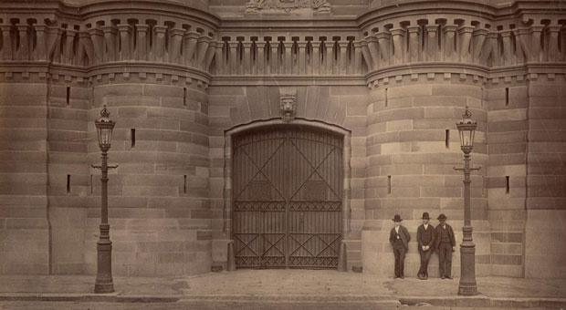 Darlinghurst Gaol entrance