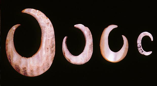 Shell fish hooks (bara)