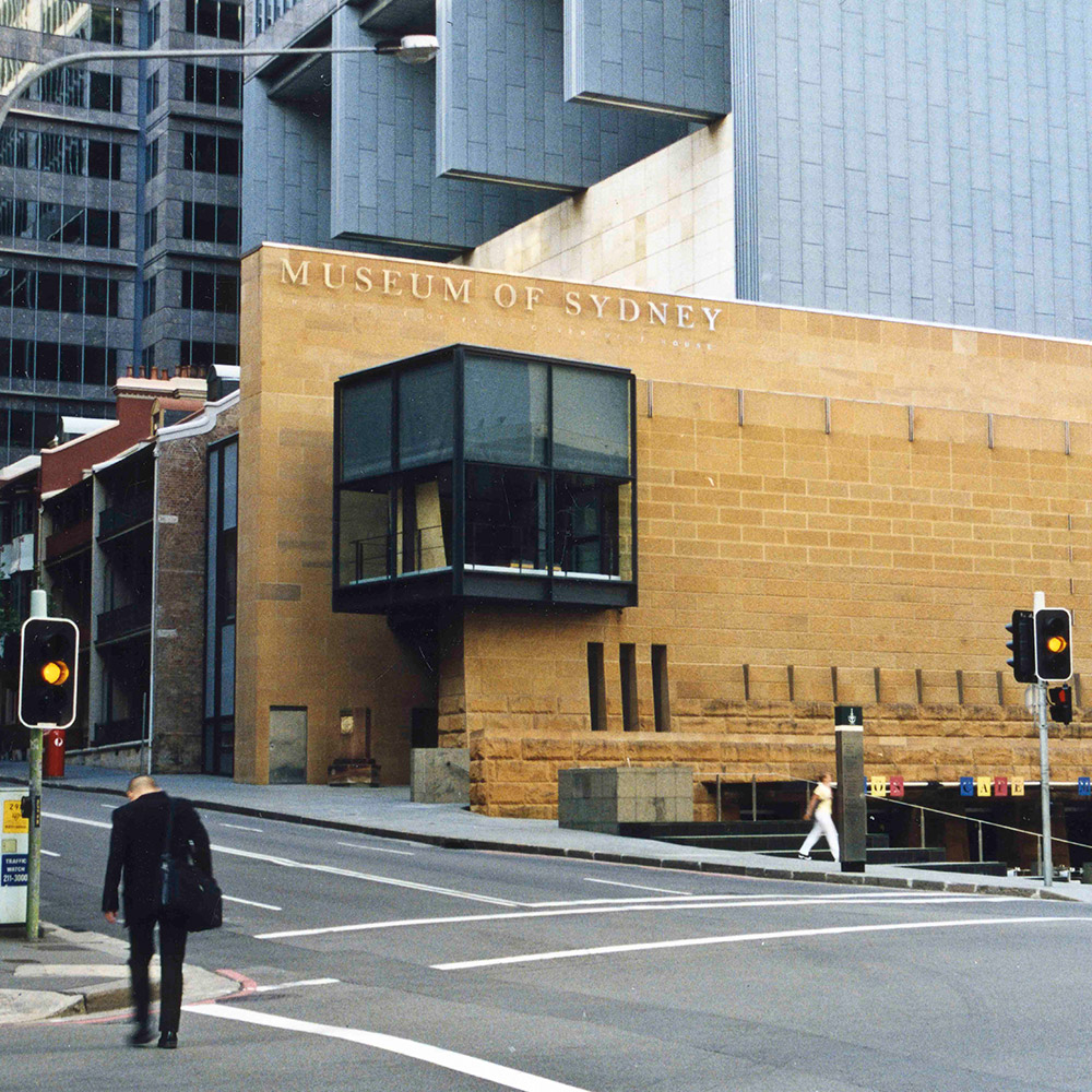 Site of the first Government House (nowMuseumofSydney)
