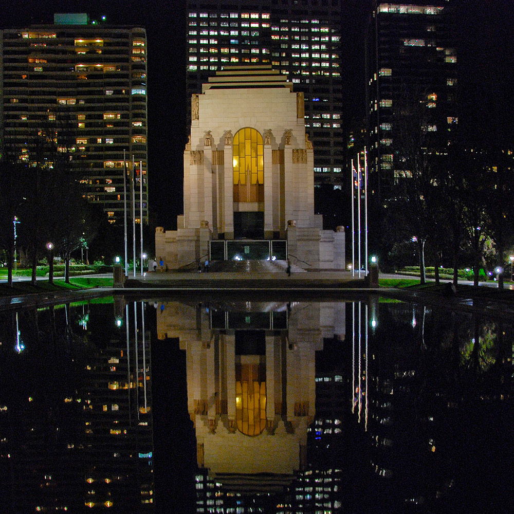 Anzac Memorial Pool of Reflection