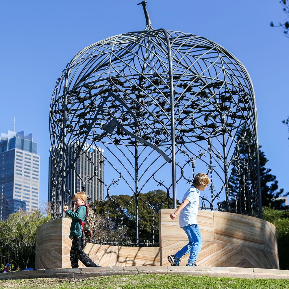 Folly for Mrs Macquarie by Fiona Hall