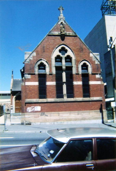 St Vincent's Church, Redfern 1989