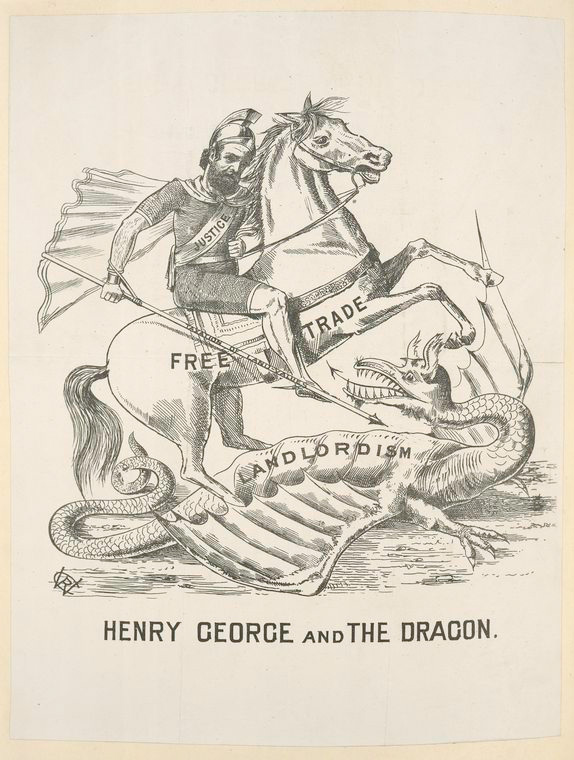 Henry George and The Dragon