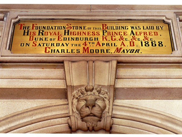 1868 Foundation Stone