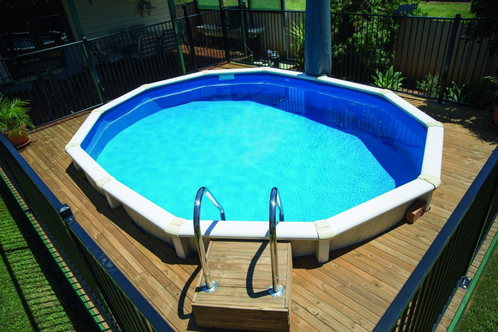 Modular marvels easy pool installation completehome for Prefab pools