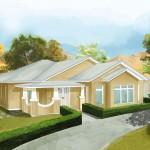 Country living: premium-quality kit homes