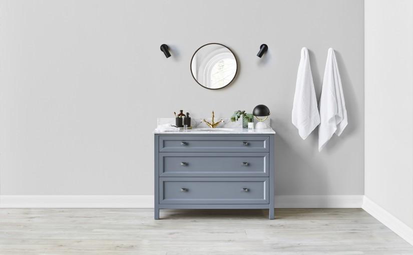 Hamptons-inspired vanities: coastal elegance