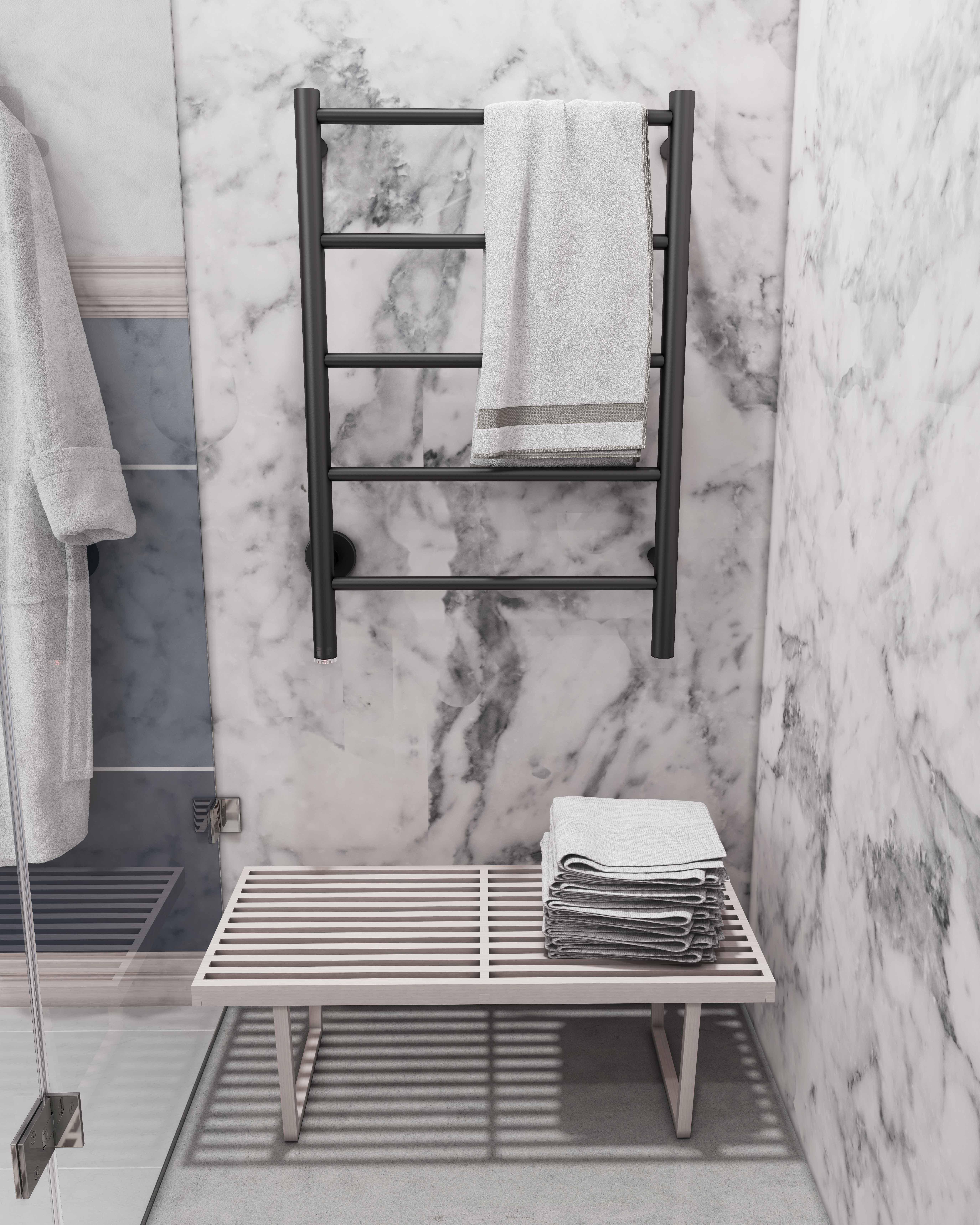 Stylish Heating Bathroom Butler Heated Towel Rails