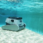 Trident Hydro: high performance pool cleaning robot