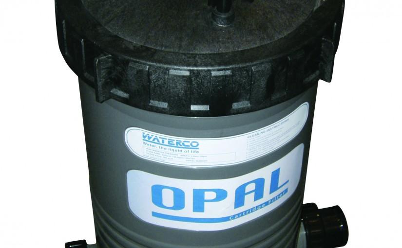 Water saving cartridge filters