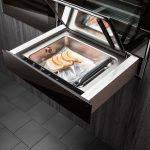 Sous-vide cooking: modern kitchen appliance - Asko vacuum seal drawer in use