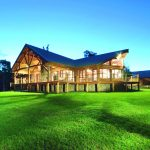 3 things to consider when building your timber kit home - exterior wooden appalachian log home