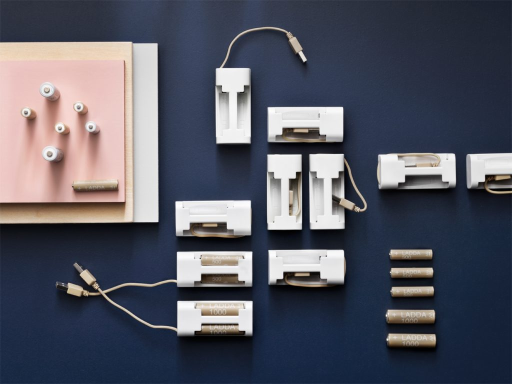 Stylish rechargeable batteries: IKEA launches new range