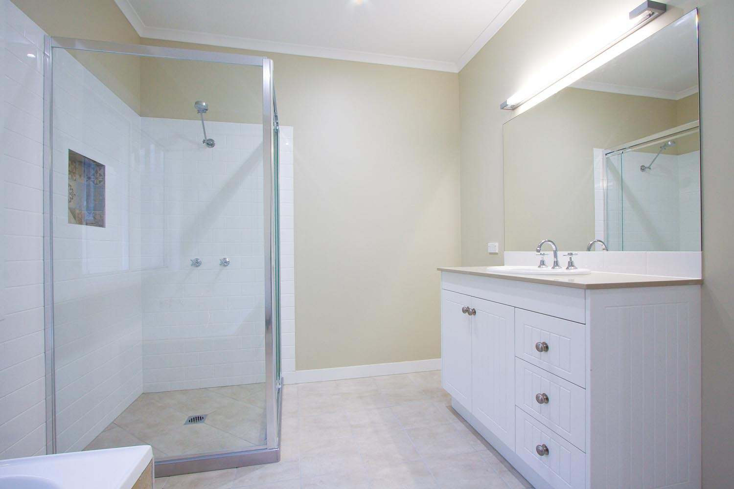 Small Queenslander Bathroom more for less: a classic queenslander home - completehome