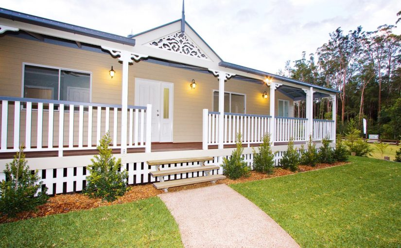 More for less: a classic Queenslander home - exterior view outside house