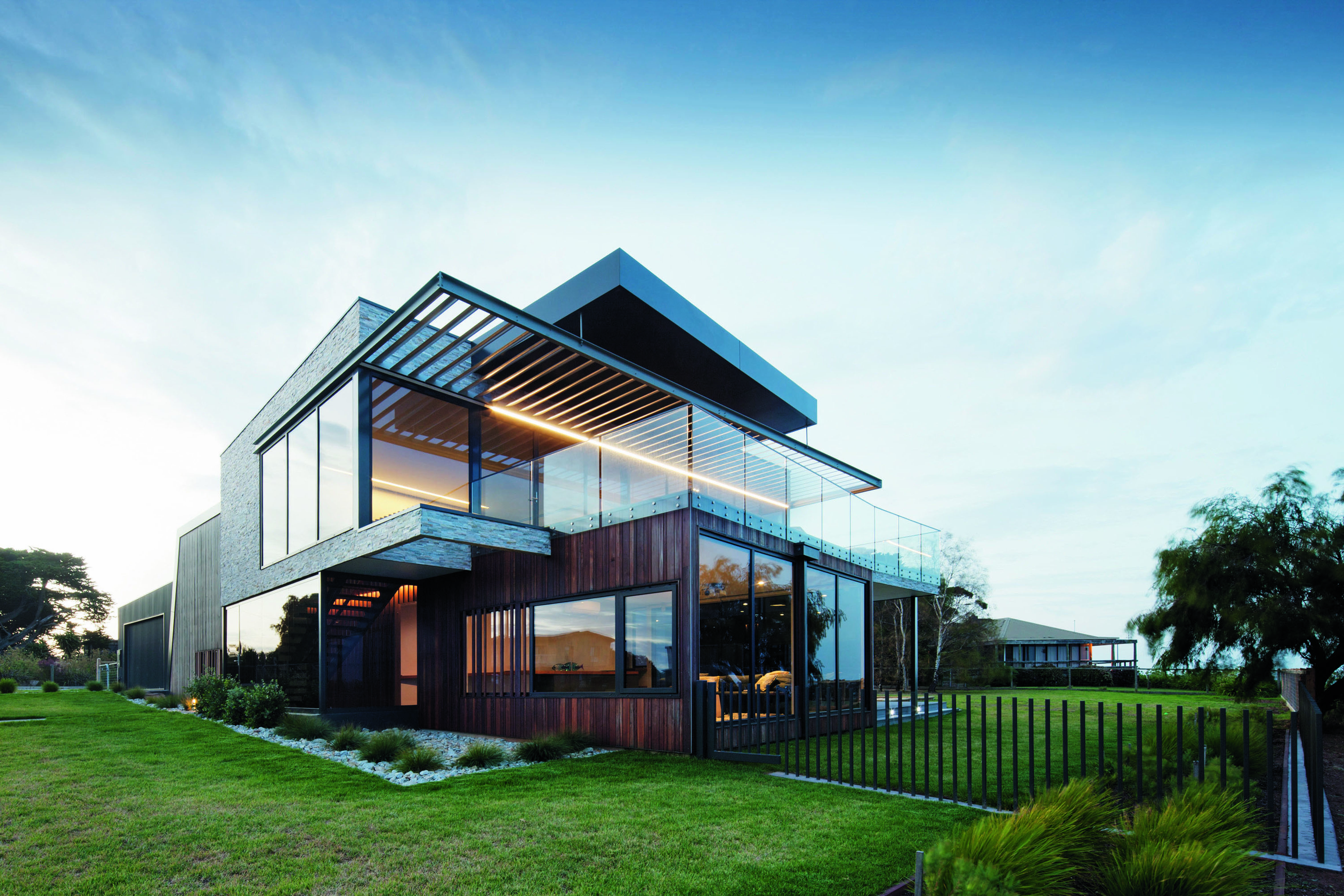 Grand designs australia black box the rhyll house for The design home