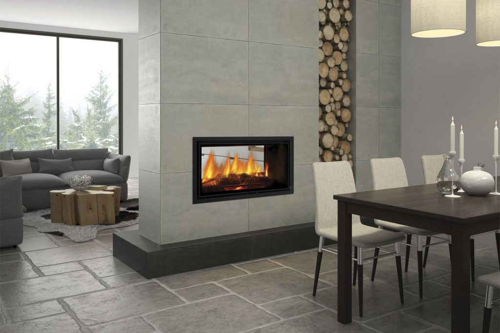 Double sided fireplaces two sides endless benefits for 4 sided fireplace