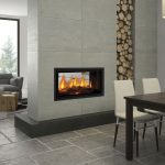 Double-sided fireplaces: two sides, endless benefits