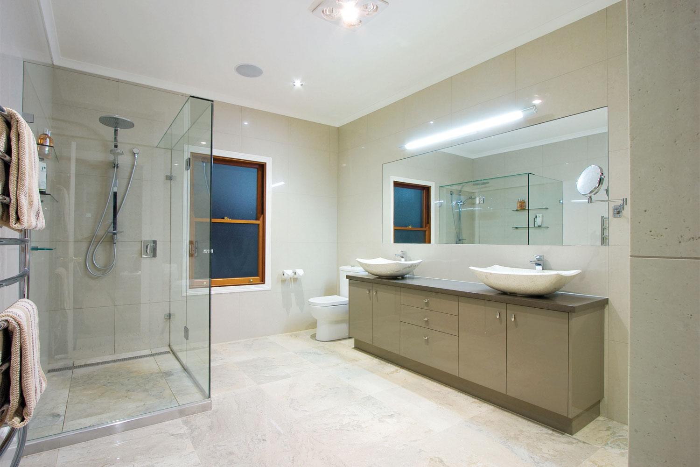 The high life traditional queenslander home contemporary for Queenslander bathroom designs