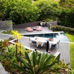 Strong lines, soft planting: an ultra-modern garden project
