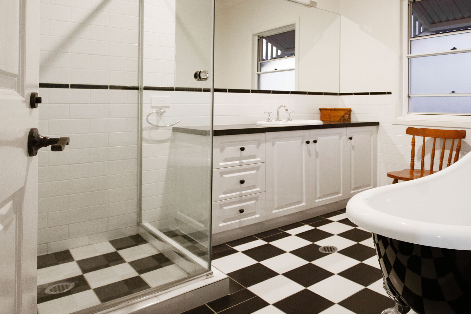 Small Queenslander Bathroom grandeur and opulence: a classic queenslander 'small house'
