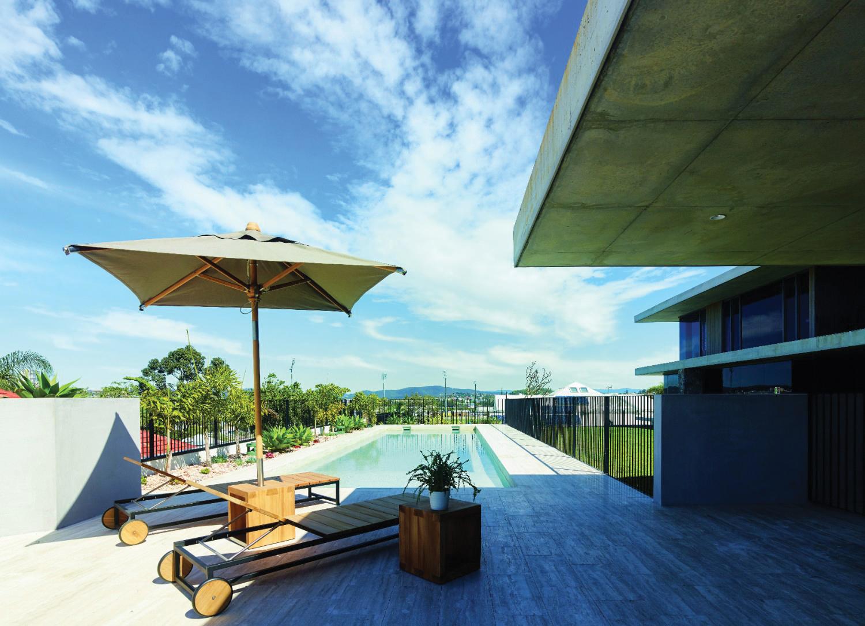 Queensland home a modern memorable design completehome for Home designs brisbane qld