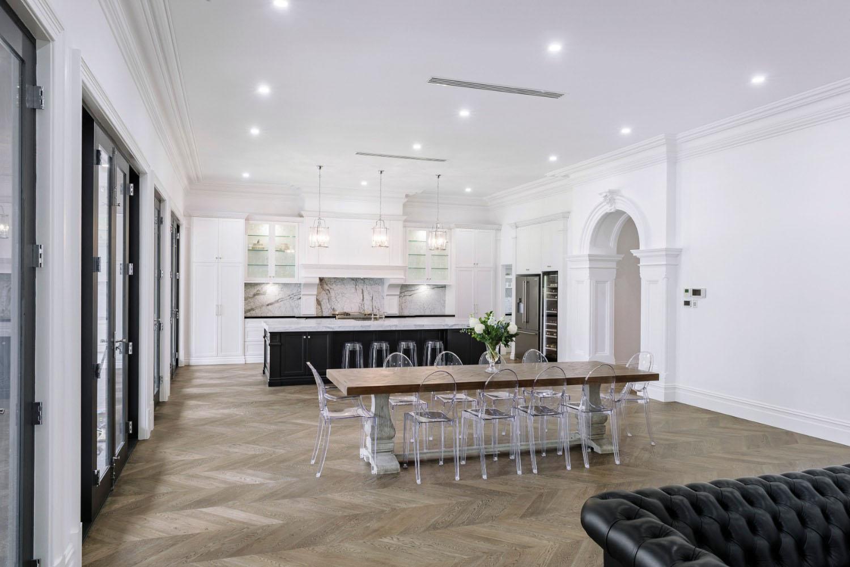 Grandiose Symmetry A Luxurious Adelaide Kitchen