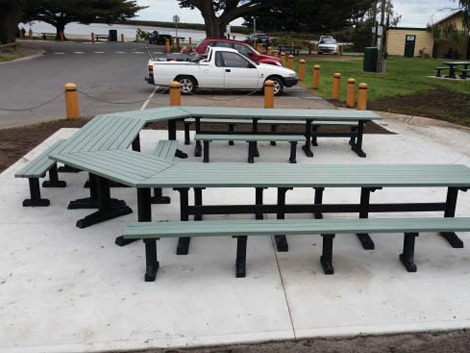 Councils Benefit From Recycled Plastic Furniture Project