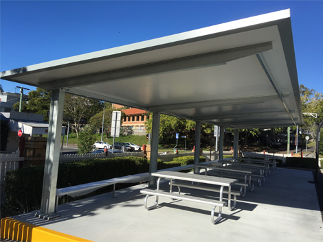 St Josephs Gregory Terrace Shade Structure Project Ods