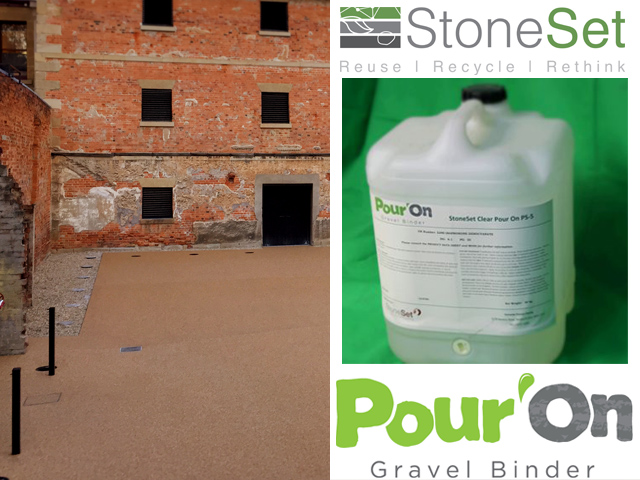 Pour On gravel binder - Product | ODS