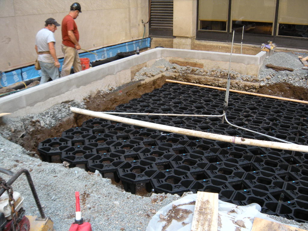 Soil Cells In New York Citygreen Systems Project Ods