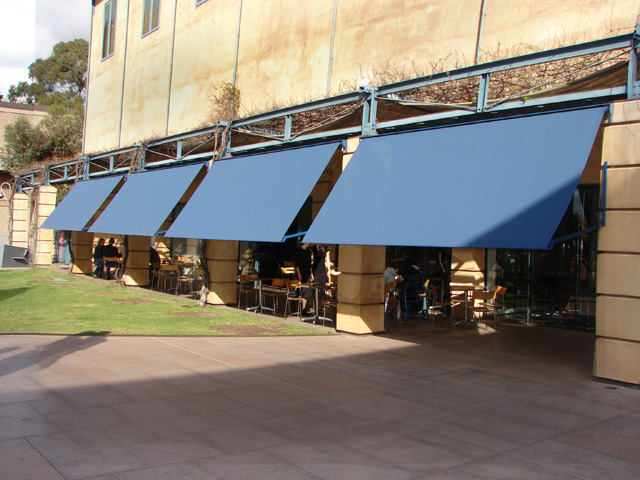 issey unicom drop arm shade awning project ods