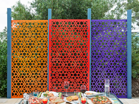 GARDEN SCREENS   INNOVATIVE METAL PRODUCTS
