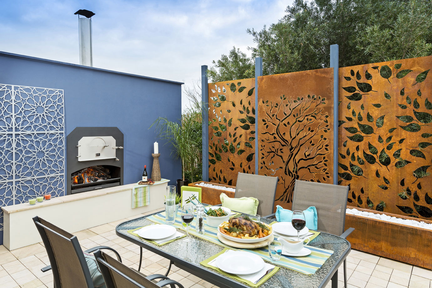 Amazing GARDEN SCREENS   INNOVATIVE METAL PRODUCTS