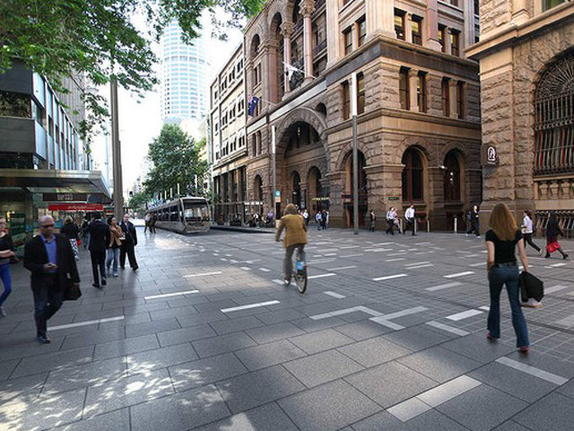 George Street Paves The Way For A Pedestrian Centred