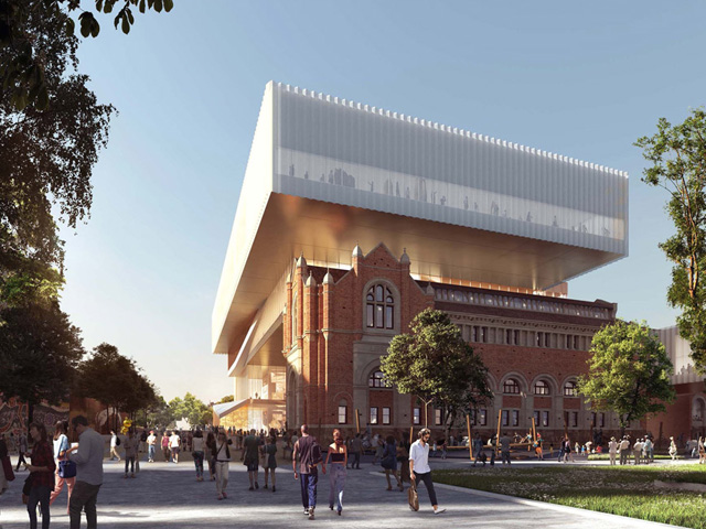 Cultural centre of wa to expand project ods for Architecture firms perth