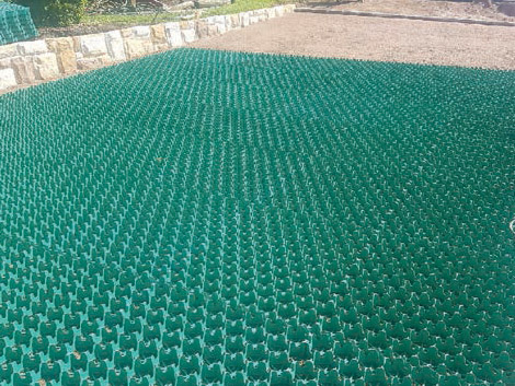 Econogrid 40 Gravel Driveway And Nature Strip Project Ods