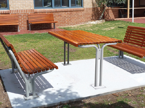 Arcadia Series Seats Benches And Tables Product Ods