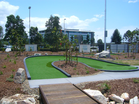 Commercial project ods for Soft landscape materials