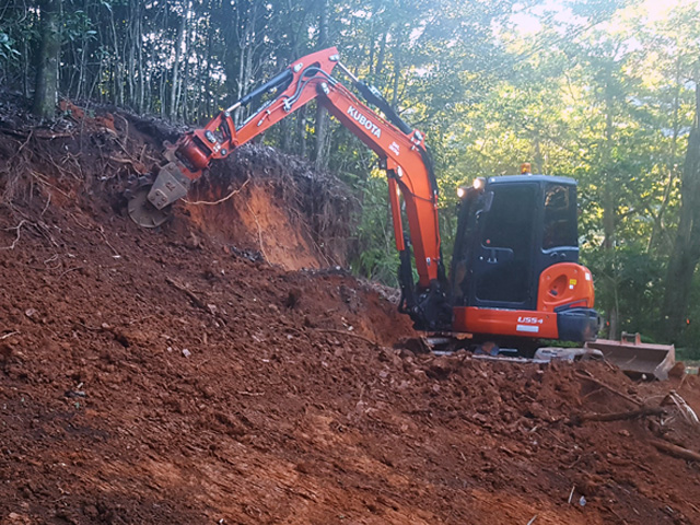excavator total environmental concepts