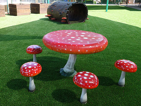 Mushroom Table and Chairs - Product | ODS
