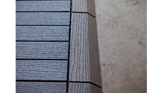 Outdoor Decking Tiles Wood Composite Diy Deck Tiles